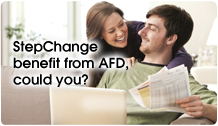 StepChange benefit from AFD, could you?